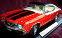 1971 Chevy Chevelle SS454 - Red (Maisto) 1/18