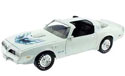 1977 Pontiac Trans Am 6.6 - White (Ertl) 1/18